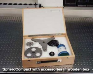 Trioptics - SpheroCompact with accessories in wooden box